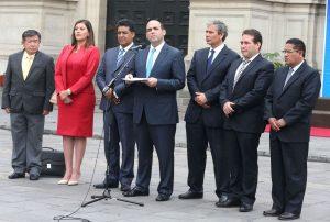 Gobierno y regiones impulsarán en conjunto pedido de facultades ante Congreso