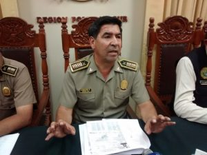 Policía investiga colombianos detenidos por presunta extorsión en Camaná