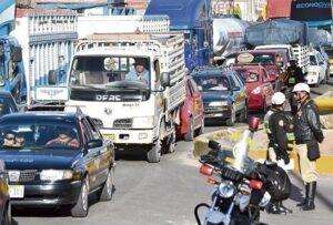REPORTAJE. El caos vehicular en los alrededores de la variante de Uchumayo