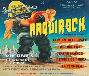 Arquitectura efímera: Arquirock vol 1 – la universidad del rock