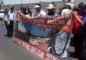 VIDEO. Pobladores de Caylloma protestan por impacto ambiental de represa Angostura
