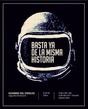 Banda de Indie Rock, Hombre del Espacio, celebra sus dos años con un concierto