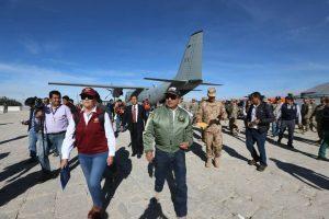Con presencia de ministro se inició simulacro de sismo en Hunter