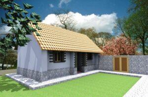 Presentan modelo de vivienda para afectados por sismo en Caylloma