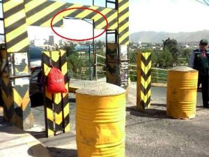 """Curiosa """"solución"""" de Municipalidad a reclamo de taxistas en puente Fierro"""