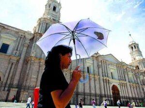 Arequipa alcanzará niveles de radiación ultravioleta extremos en verano