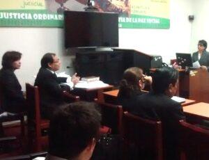 VIDEO. Magistrada denuncia que juez Percy Gómez busca prescripción de su caso