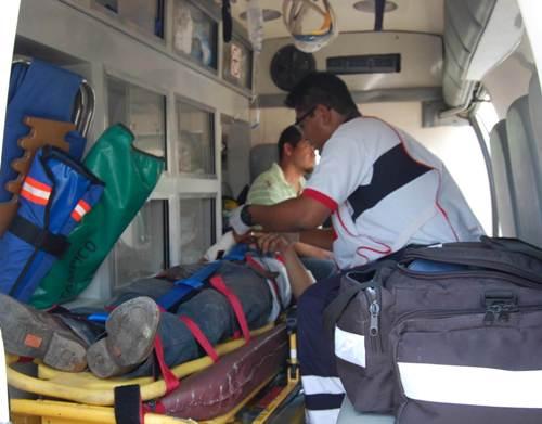 herido-ambulancia