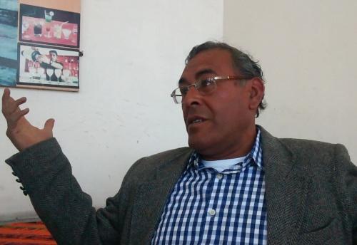 """Jesús Burgos Macedo, del colectivo """"Ciudadanos por el Cambio""""."""