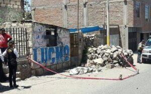 Lanzan cadáver desde un vehículo en la vía pública del distrito de Miraflores