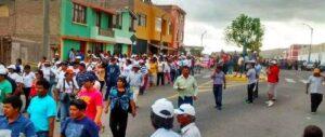 Protestas por declaratoria de emergencia en Moquegua que afecta al valle de Tambo