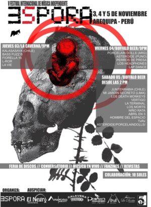 Este jueves inicia el V Festival Internacional de Música Independiente ESPORA