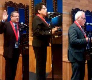 VIDEO. Candidatos a presidencia de la Corte de Justicia exponen sus propuestas