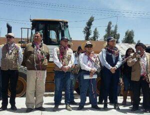 Ministros llegan a Caylloma para evaluar proceso de reconstrucción