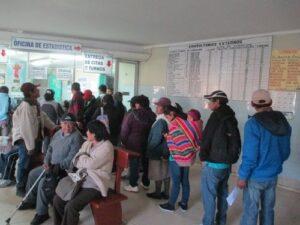 Más de 600 pacientes sin atención por huelga en Honorio Delgado