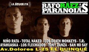 Este 26 de noviembre vuelven a Arequipa luego de 6 años Rafo Ráez & Los Paranoia