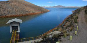 Toma Grande y Casa Blanca, represas para los conos de Arequipa