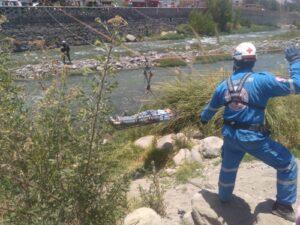 Previenen ante posibilidad de inundación y desborde del río Chili