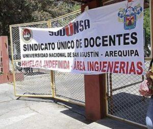 Huelga en la UNSA continuará a pesar de anuncio de reinicio labores