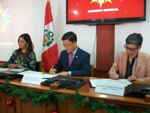 Corea invertirá 10 millones de dólares en emprendimiento tecnológico en Arequipa