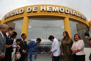 Inauguran nueva Unidad de Hemodiálisis en hospital Honorio Delgado
