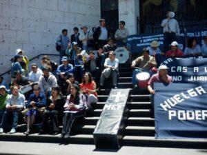 Trabajadores del Poder Judicial deciden continuar paro indefinido por presupuesto