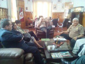 Se reunió Comité Regional de Seguridad Ciudadana sin asistencia de autoridades