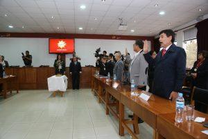 Juramenta y se instala Comité Regional de Seguridad Ciudadana