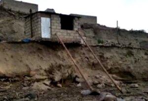 Viviendas afectadas por entrada de torrenteras estaban con orden de desalojo