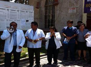 Huelga de 48 horas en el Goyeneche porque solo funciona 1 de 6 salas de operación