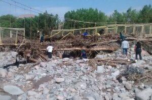 Tras huaico 3 distritos de La Unión continúan aislados hace dos días