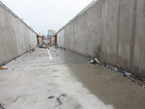 A pesar de daños por lluvias, trabajos en intercambio de Dolores continuarán