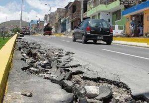 MPA inicia reparación de vías de tránsito afectadas por lluvias