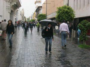 Senamhi: lluvias se registrarían en Arequipa hasta marzo