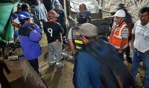 Rescatan cadáver de uno de los mineros atrapados en Caravelí