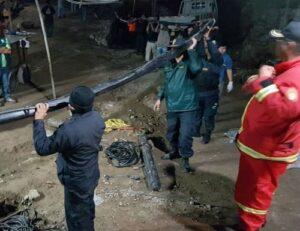 Ante baja expectativa, bomberos desisten en rescate de mineros sepultados