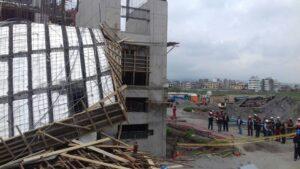 VIDEO. Edificio de Universidad Continental en Arequipa sufre derrumbe causando 9 heridos