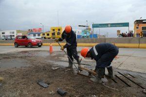 Lluvias no afectaron trabajos en el tercer tramo de la variante de Uchumayo