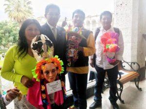 MPA premia a artistas ganadores de concurso de máscaras