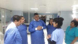 Presidente de EsSalud encontró malas condiciones de los hospitales