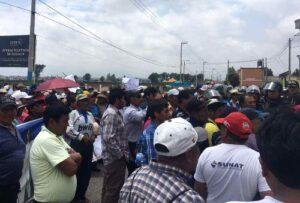 Pobladores de Sachaca logran con protesta reducción pasaje urbano