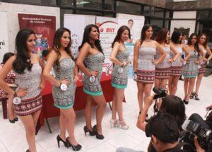 Presentan candidatas a Reina del Corso por Carnavales