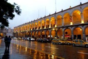 Ciudad de Arequipa aguantó más de 16 horas de lluvia persistente