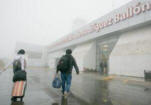 Se desplazan a Tacna vuelos con destino a Arequipa por mal tiempo