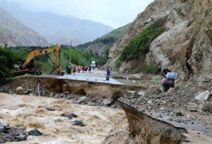 Cotahuasi aislada por colapso de vía de acceso debido a intensas lluvias