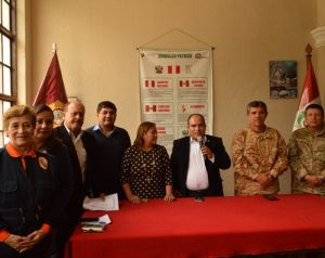 Autoridades inician campaña para apoyar a damnificados del norte