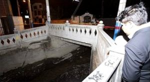Puente peatonal de Yanahuara colapsó tras intensa lluvia