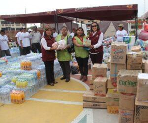 Comerciantes de San Camilo entregaron 5 toneladas para ayuda