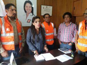 Cerro Verde pide a congresista Aramayo mediación en huelga de mineros