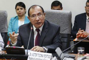 Presidente del JNE expondrá sobre nuevo Código Electoral